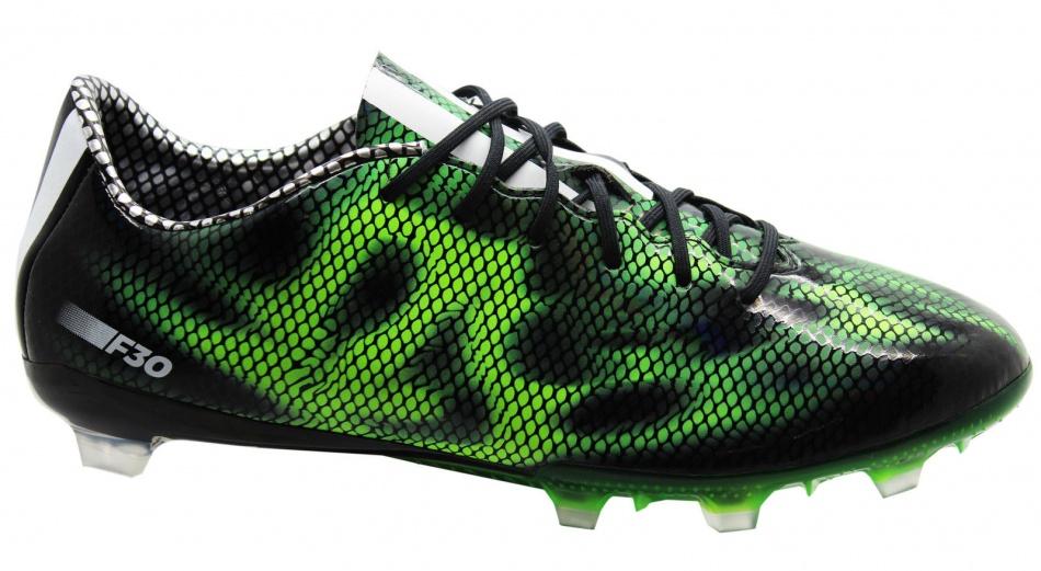 Adidas Voetbalschoenen F30 FG zwart-groen heren maat 40