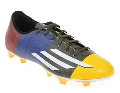 Adidas Voetbalschoenen F5 FG Messi Heren Blauw-Zwart Maat 44