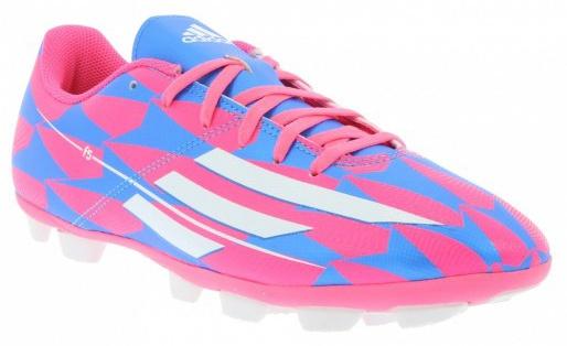 Adidas Voetbalschoenen F5 HG heren roze-blauw maat 42 2-3
