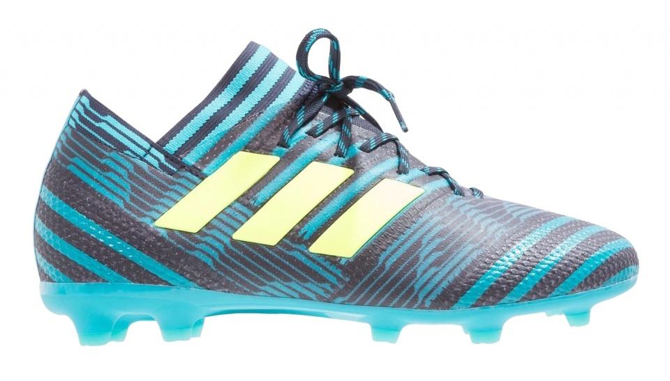 best loved 5b7b8 a6a0f adidas soccer shoes Nemeziz 17.1 FG blue black