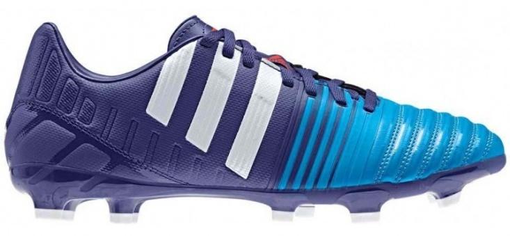 adidas voetbalschoenen NitroCharge 3.0 FG Bl-Wit maat 44