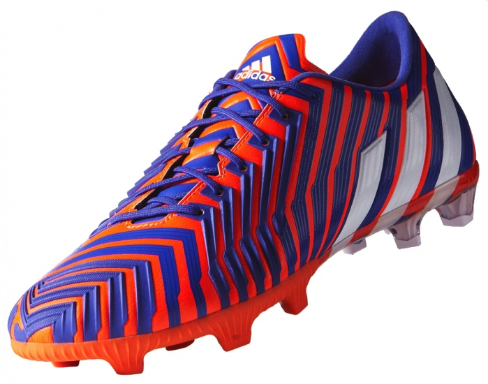 Adidas Voetbalschoen Predator Instinct FG heren paars-oranje mt 42 2-3