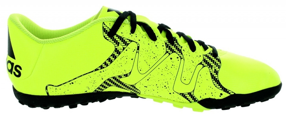 Chaussures De Football Adidas X 15,4 Tf Hommes De Taille Jaune 47 1/3