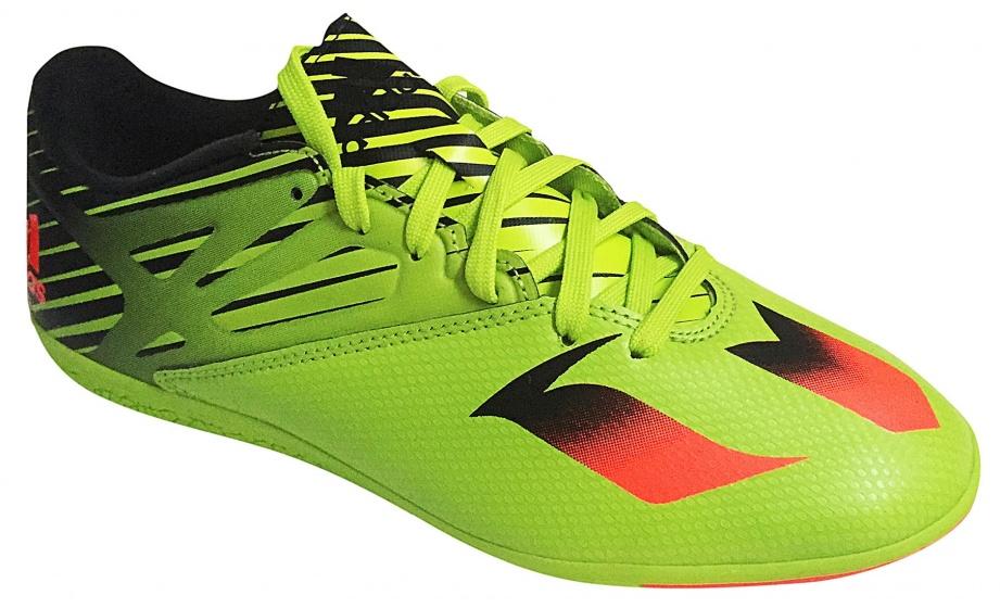adidas zaalvoetbalschoenen Messi 15.3 heren groen maat 44 2-3