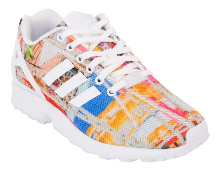adidas ZX Flux sneakers heren multicolor maat 39 1-3