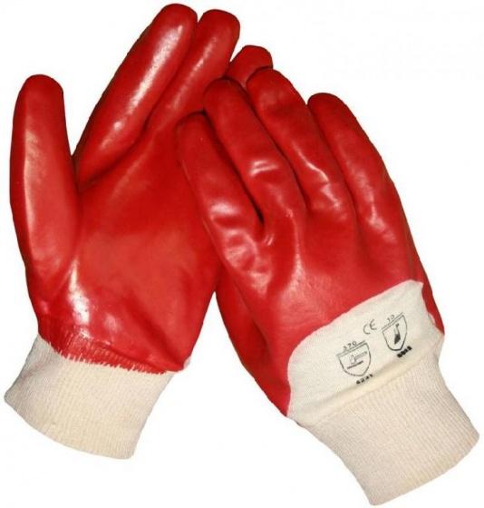 Amigo herkhandschoenen PVC rood maat 10