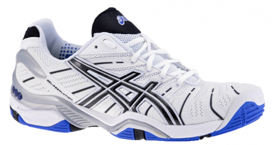 ASICS Tennisschoenen Gel Resolution 4 Clay heren wi-bl maat 37.5