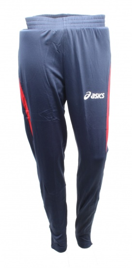Asics Running Tight Quebec Blauw Maat XL