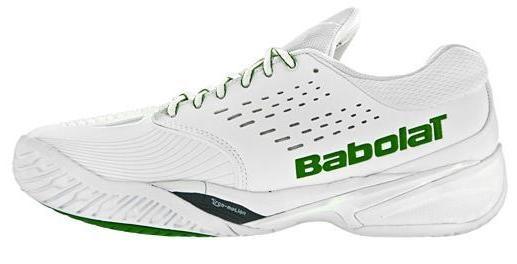 Babolat Sfx Omni Chaussures De Tennis Wimbledon Taille Homme Blanc / Vert 40,5