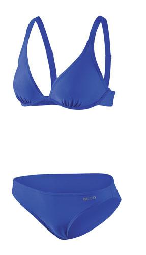 Beco bikini B cup wire bra dames polyamide blauw maat 44
