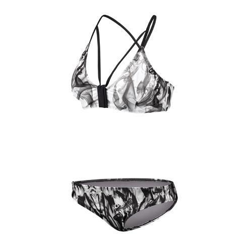 Beco bikini B cup wire bra dames polyester zwart/wit maat 40