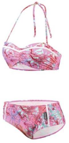 Beco bikini BEactive bandeau dames C cup polyester roze maat 38