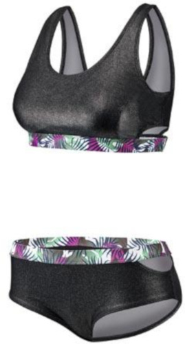 Beco bikini BEactive dames B cup polyester zwart maat 36
