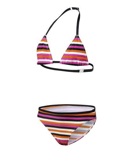 Beco bikini meisjes polyamide/elastaan oranje/zwart maat 176