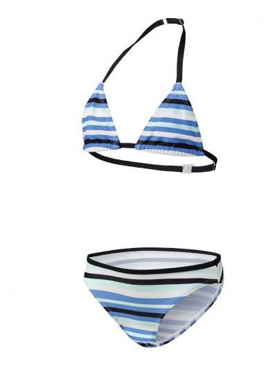 Beco bikini meisjes polyamide/elastaan turquoise/zwart maat 152