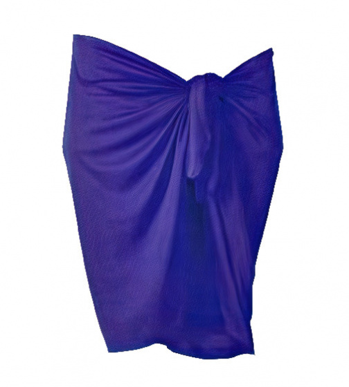 Beco rok Pareo dames 165 x 56 cm polyester paars