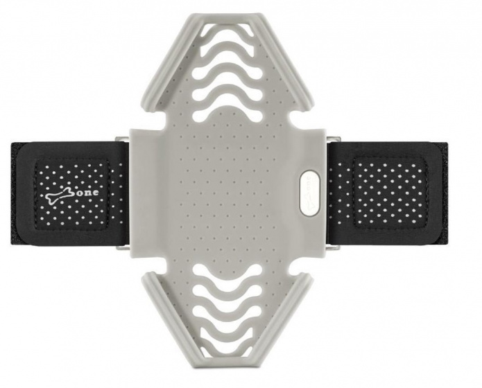 Bone Telefoonhouder Arm Polsband Run Tie Grey (S)