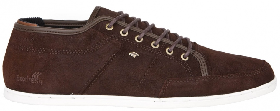 Boxfresh Brun Chaussures Casual Hommes Occasionnels f9DPN7Vr