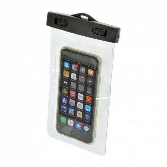 Carpoint waterdichte smartphone beschermhoes zwart 20 cm