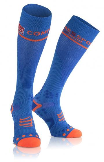 Full Socks v2.1 Compressiesokken Blauw