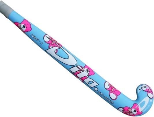Dita hockeystick Pro Junior Teddy 35 inch blauw