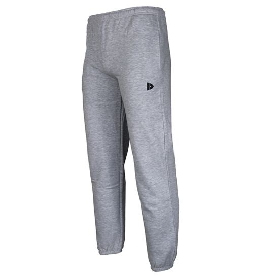 Donnay joggingbroek heren met boord grijs maat S