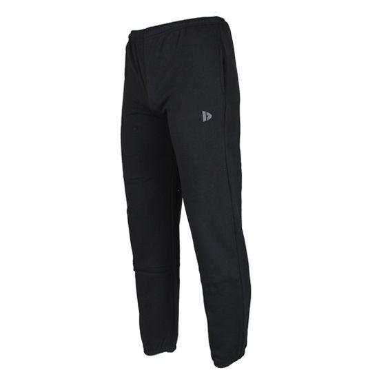 Donnay joggingbroek heren met boord zwart maat S