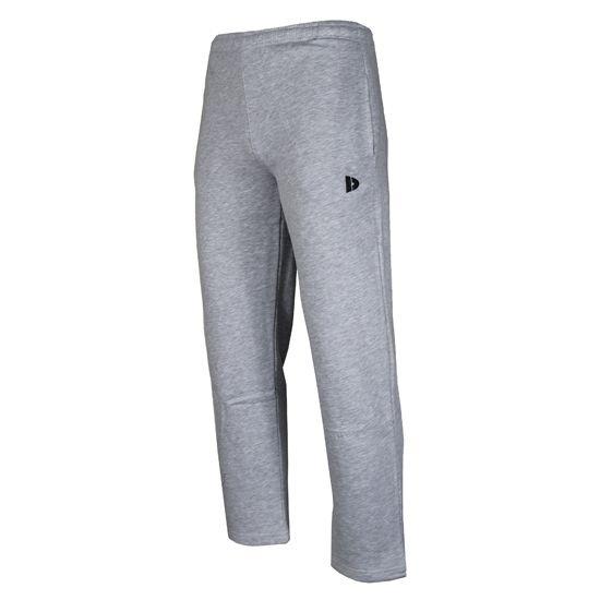 Donnay joggingbroek heren met rechte pijp grijs maat S