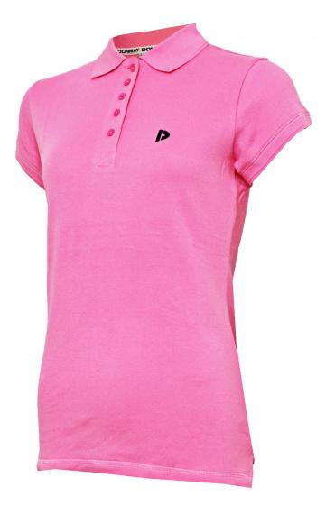 Donnay poloshirt Lisa dames katoen roze
