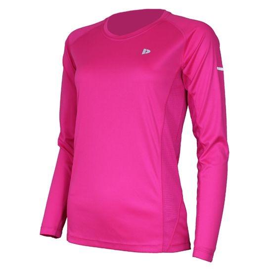 Donnay Shirt Multi sport lange mouw dames roze maat L