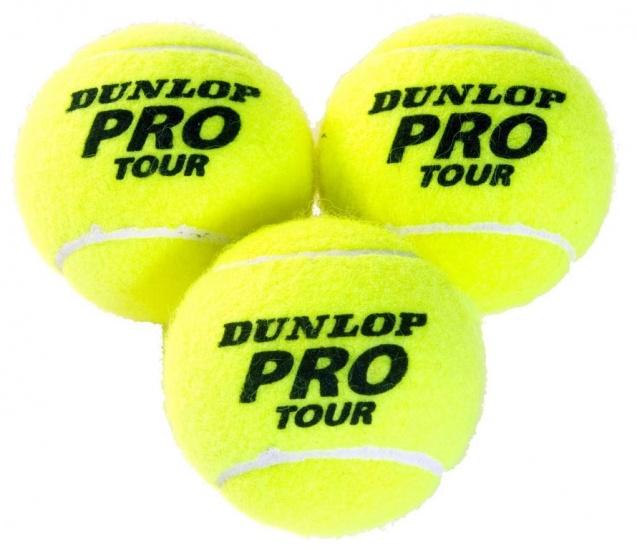 Dunlop Volley Tennisbal Koker 3 Ballen