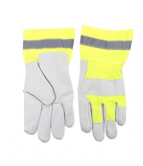 Dunlop werkhandschoenen geel maat XL
