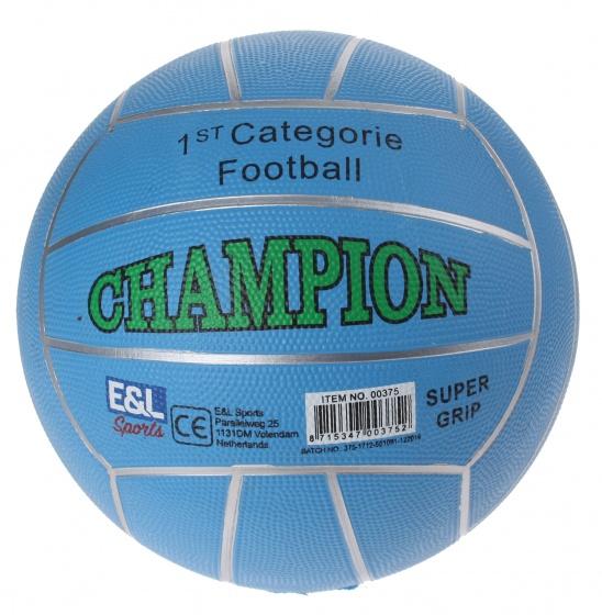 Schoudertassen Autobanden : E l sports straatvoetbal champion lichtblauw maat
