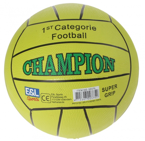 Schoudertassen Autobanden : E l sports straatvoetbal champion lichtgroen maat