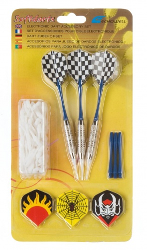 Echowell Softtip Darts 3 Pijlen Met 100 Softtips