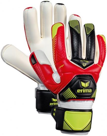 Erima Contact Ultragrip 3.0 Keeperhandschoenen Rood Maat 10,5