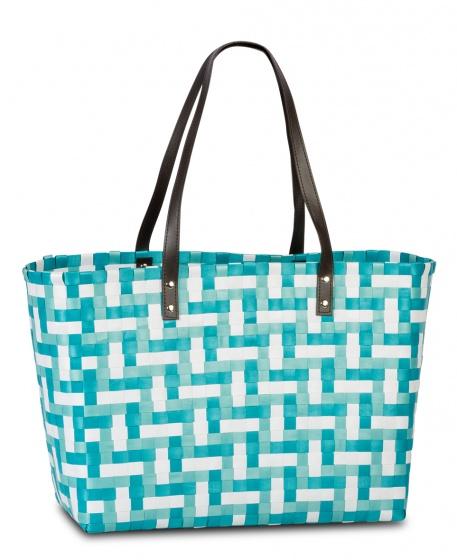 Fabrizio shopper 53 cm blauw