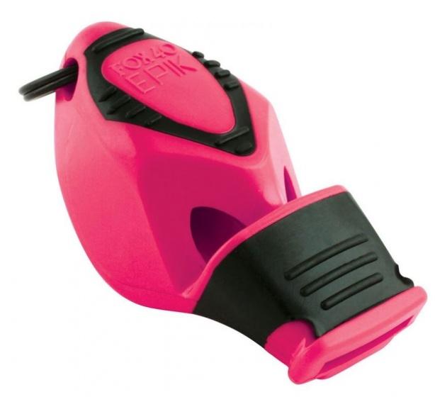 Fox40 Epik scheidsrechtersfluit CMG roze/zwart