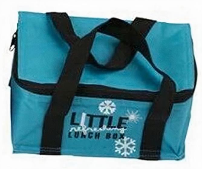 Fresh & Cold koeltas 6 liter 23 x 15 cm polyester blauw 2,4 L 3 delig