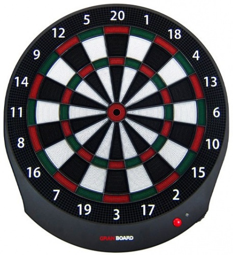GranBoard smart dartbord Bluetooth 56 x 51 cm groen 2 delig