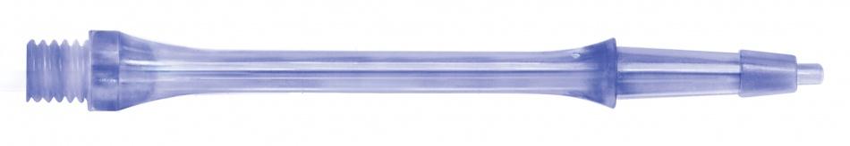Harrows Darts Clic Shafts Blauw Kort Per 3 Stuks