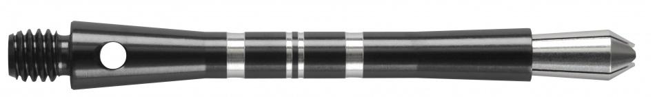 Harrows Darts Colette shaft medium zwart 3 stuks