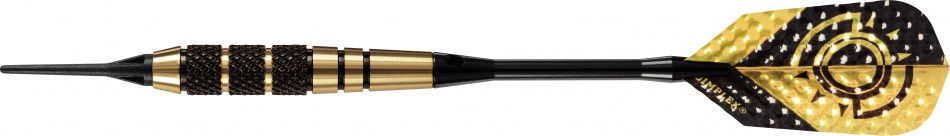 Harrows Darts Dartpijlen Gyro Ebonite Brass Softtip 18 Gram