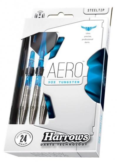 Harrows Darts dart set Aero 90% tungsten steeltip 24 gram