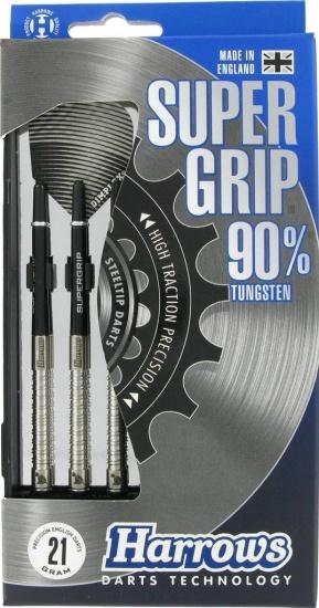 Harrows Darts dart set Supergrip 90% tungsten steeltip 21 gram
