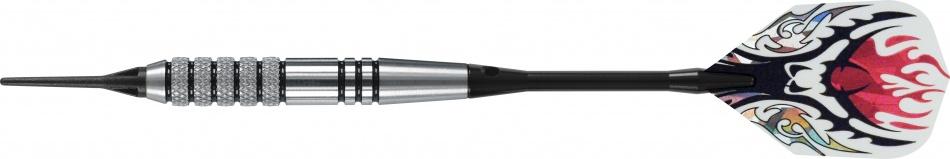 Harrows Darts Dartpijlen Vector Black Softtip 18 Gram