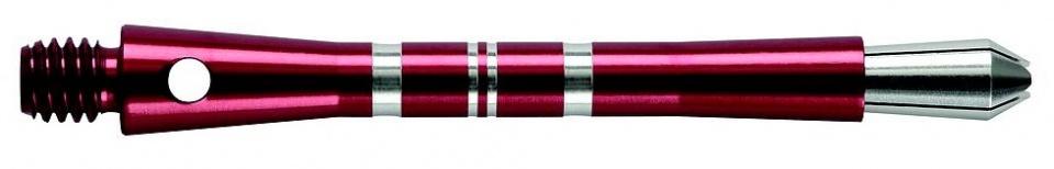 Harrows Darts Colette shaft medium rood 3 stuks