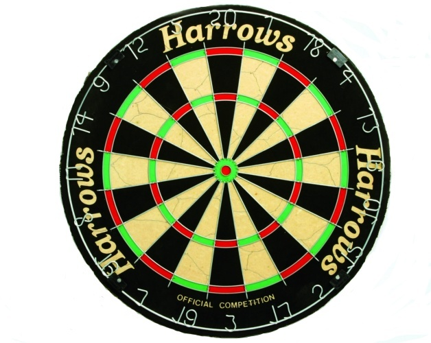 Harrows Bristle dartbord official competition