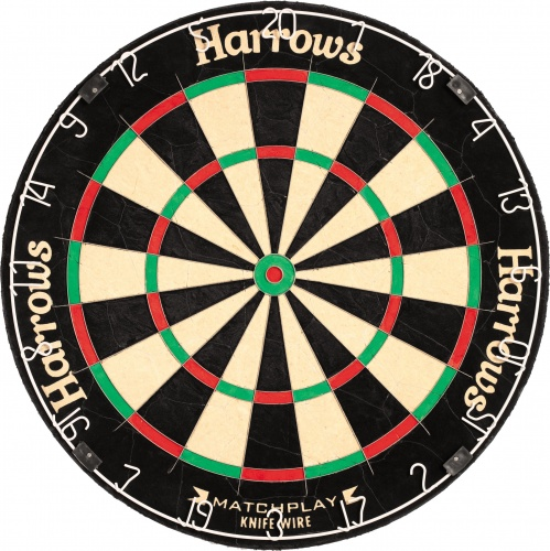Harrows Darts Dartbord Pro Matchplay Bristle