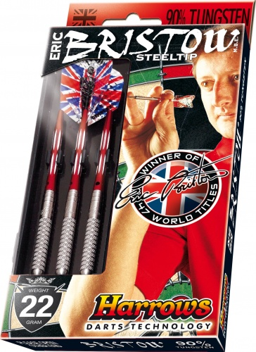 Harrows Darts Eric Bristow 90% Tungsten Steeltip 24 Gram